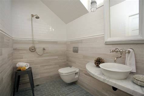 wheelchair accessible bathroom Bathroom Contemporary with