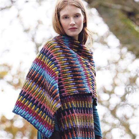 knitting patterns scarf uk embrace the blanket trend with this wrap to knit