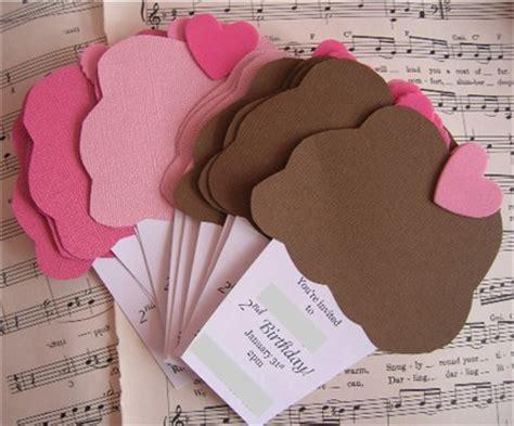 Handmade Birthday Invitation Ideas - handmade cupcake birthday invitations flickr
