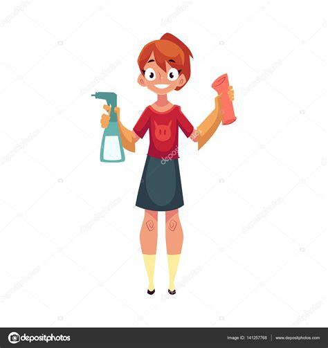 imagenes graciosas limpiando la casa ni 241 a adolescente ayudando a limpiar casa lavar pisos con