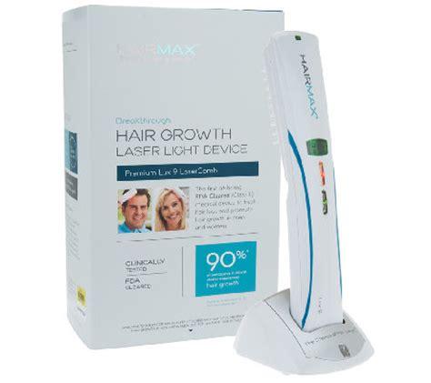 Qvc Hairmax Lasercomb Lux 9 | hairmax lux 9 hair growth lasercomb a225120 qvc com