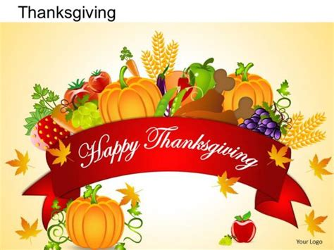 Thanksgiving Powerpoint Template by Powerpoint Templates Happy Thanksgiving Ppt Slides