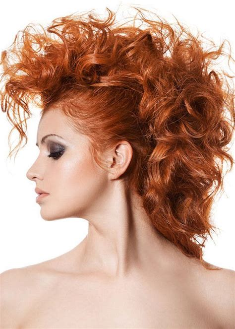 curly mohawk hairstyles long hair google search my