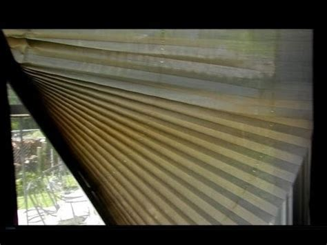 how to fix torn window shades how to repair a pleated shade