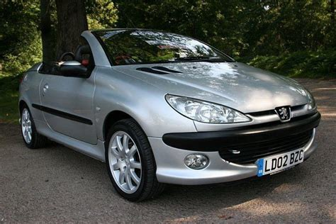 peugeot 206 convertible 2002 peugeot 206 cc 2 0 convertible top low 2