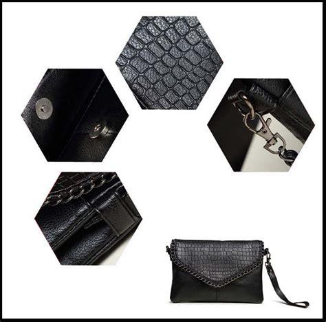 Bag Tas Wanita Tas Selempang 157 tas selempang kulit minimalis shoulder bag wanita black