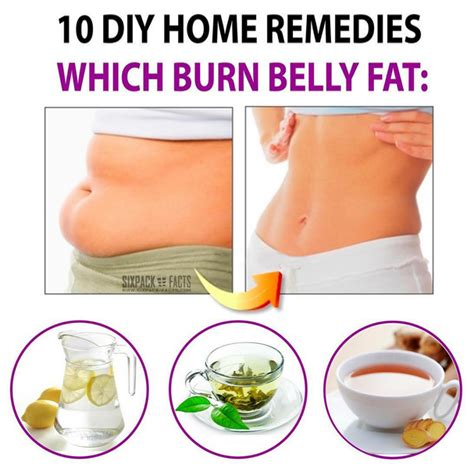 10 diy home remedies which burn belly fitness