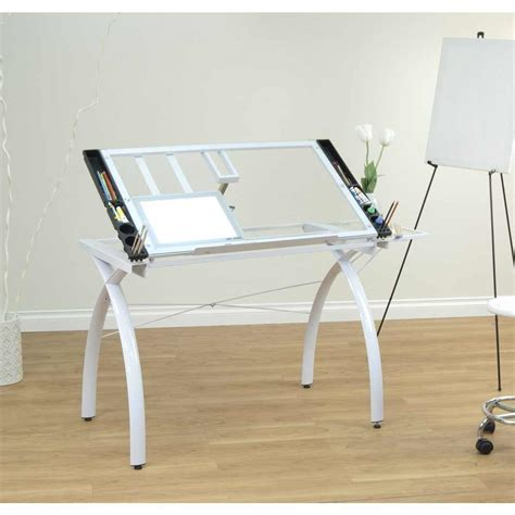 Drafting Table Pad Studio Designs Light Pad Support Bars