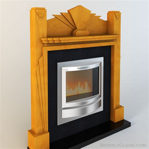 Deco Fireplace Tiles by An Deco Fireplace Beverly Designs Beverly
