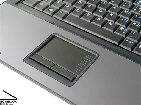 Touchpad Compaq review hp compaq 6710b notebook notebookcheck net reviews