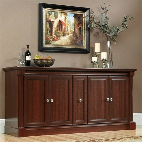 entertainment center cherry palladia credenza  cabinet  doors highboy ebay