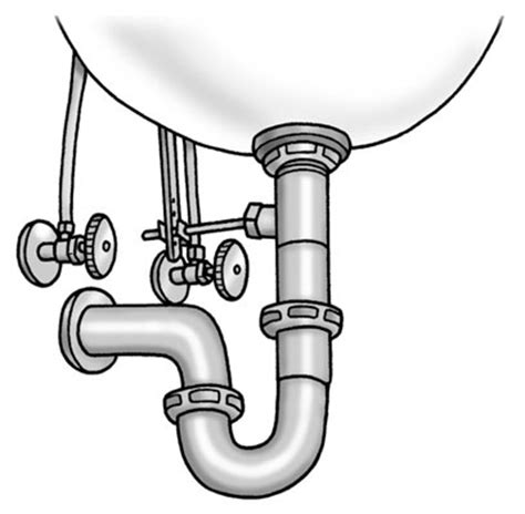 How To Install A Sink Trap how to install the p trap a sink dummies