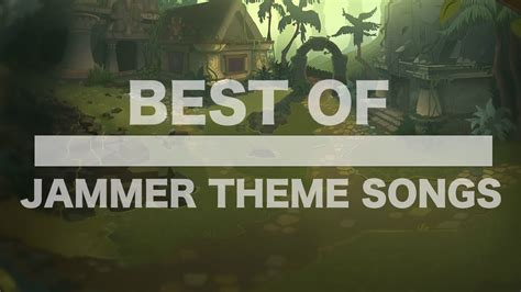 theme songs famous the best of jammer theme songs youtube