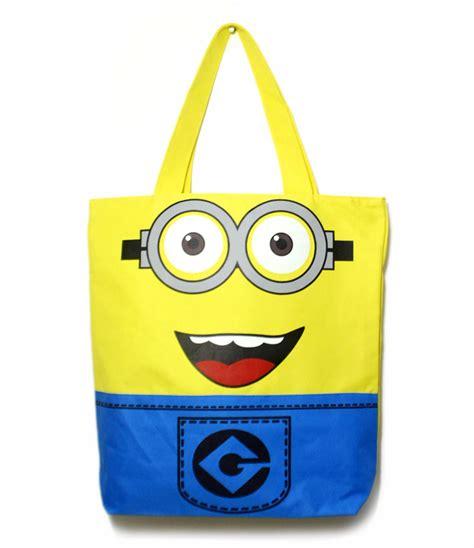 Bag Minions Tote Bag despicable me minion tote shopping bag