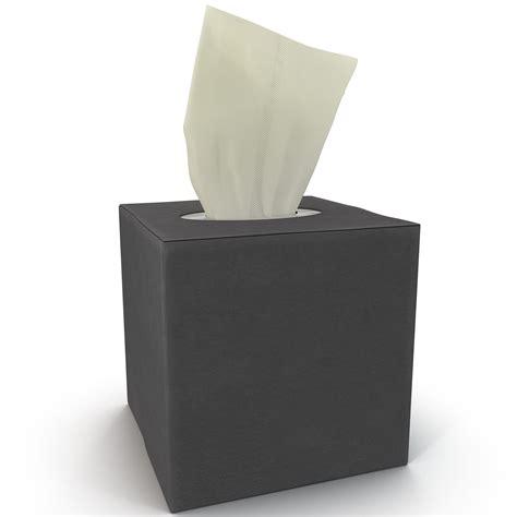 Small Tissue Box 2 3d tissue box 2 model