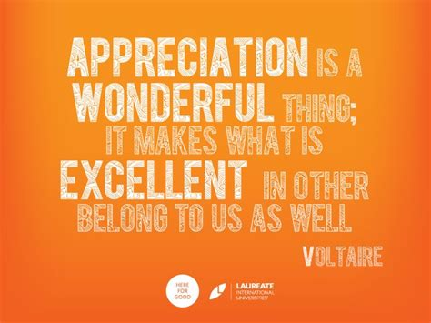 Appreciation Quotes Appreciation Is Thankful Recognition It Is Estimating The