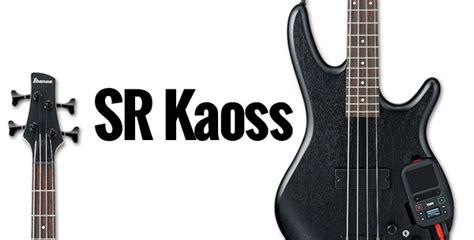 Kaos Ibanez ibanez chitarre e bassi ultra moderni con korg kaoss