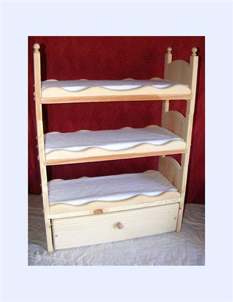 American Doll Bunk Bed by Items Similar To Stackable American Doll Bunk