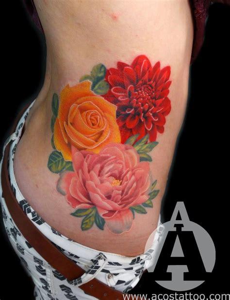 flower tattoo redone march birth flowers birth flowers and birth flower