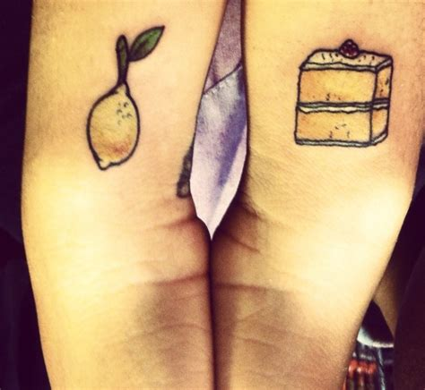 lemon tattoo my new lemon and lemon cake tattoos
