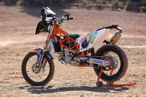 Motorrad Einfahren Ktm by Ktm 450 Rally Bike