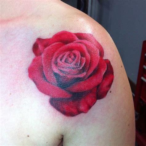 red rose tattoo shoulder shoulder www pixshark images