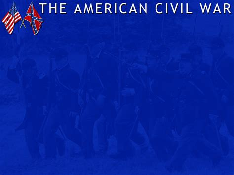 Civil War Powerpoint Template The American Civil War Powerpoint Template 1 Adobe Education Exchange