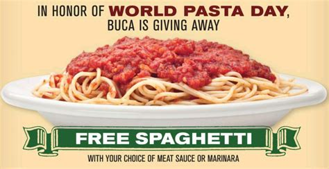 All You Can Eat Pasta Olive Garden by World Pasta Day Olive Garden Buca Di Beppo Who Said