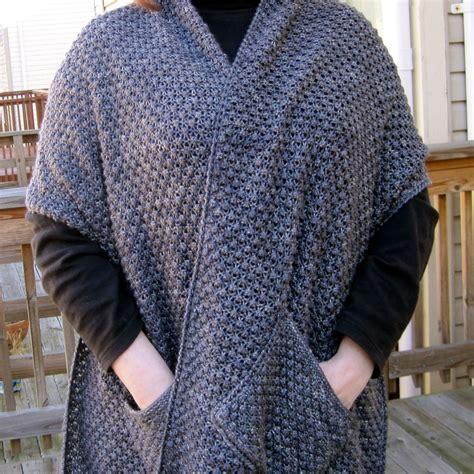 knitting wrap 1 knit wrap pattern warm bramble lace pocket shawl pattern
