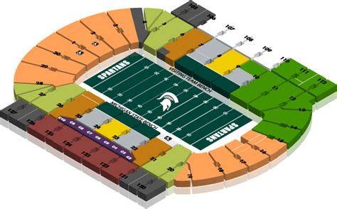 msu student section football tickets non scholarship seating