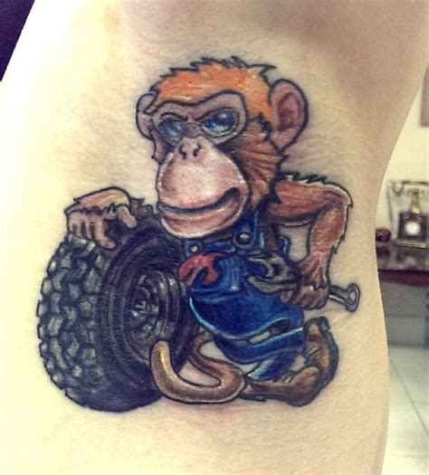 grease monkey tattoo grease monkey www pixshark images galleries