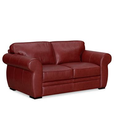macys leather sofa and loveseat carmine leather loveseat furniture macy s