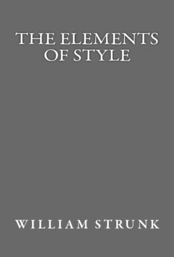 Download The Elements of Style (Illustrated) Pdf Ebook