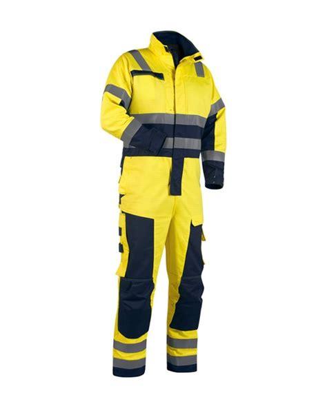 Koko Overall Yellow bl 229 kl 228 der multinorm talvihaalari 6368 temrex verkkokauppa