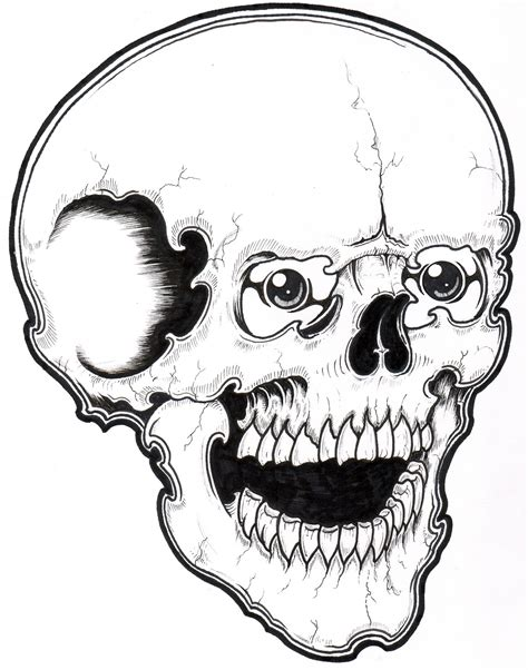 skull coloring pages colorings