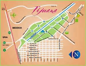 Tijuana Mexico Map by Maps Of Tijuana Mexico Free Printable Maps
