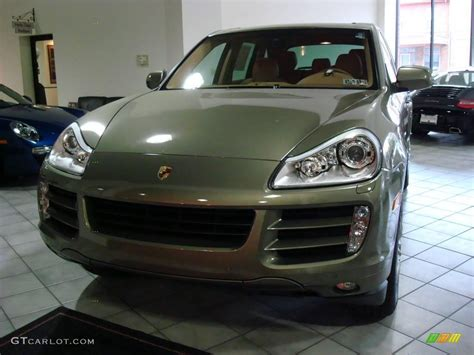 2009 olive green metallic porsche cayenne s 1661888 gtcarlot car color galleries