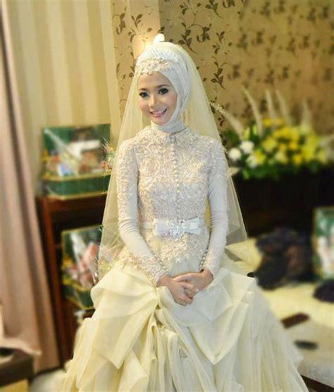 Wedding Dress Muslim by 110 Muslim Bridal Wedding Dresses With Sleeves
