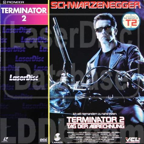Laser Disc Terminator 2 laserdisc database terminator 2 judgment day plfgc 30051