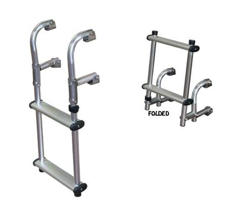 boat dock ladder parts compact transom boat ladders