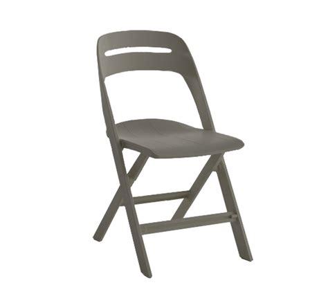 sedie pieghevoli bontempi sedia gill pieghevole di ingenia bontempi in polipropilene