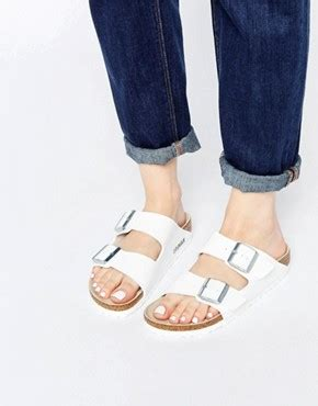 White Cath Flat Sling Back Sandals s shoes heels wedges sandals boots shoes asos