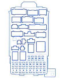 honda element  main fuse boxblock circuit breaker diagram carfusebox