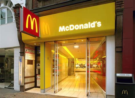 Mcdonald s flagship restaurant by shh london