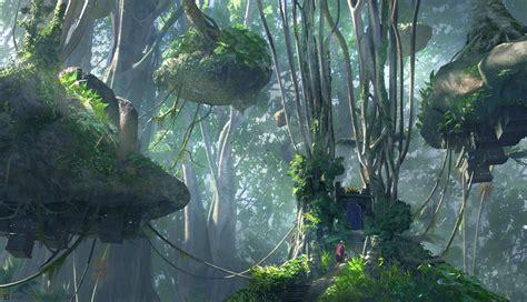 jungle painting jungle gateway by jamescombridge on deviantart