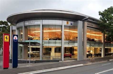 maserati dealership ausmotive com 187 ferrari maserati sydney open new showroom