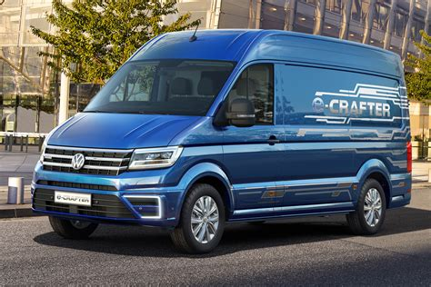 electric volkswagen van all electric volkswagen e crafter van coming in 2017
