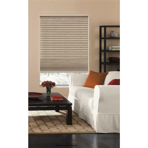 home decorators cordless cellular shade home decorators collection snow drift 9 16 in cordless