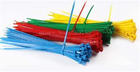 Marker Ties 150 Mm X 3 6 Mm 200 pcs 4 color 6 quot inch 2x150 mm colorful self locking plastic cable zip ties cable loop ties