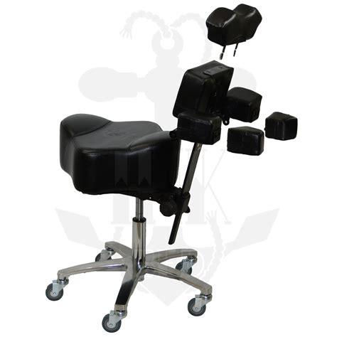 tattoo artist chair inkchair inkstool deluxe ergonomic client artist